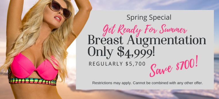 Breast Aug - $4999 Special Spring 2021
